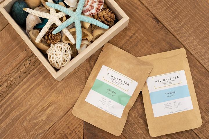 日常生活中的琉球茶;使用冲绳产素材的「RYU DAYS TEA」,让身心都健康