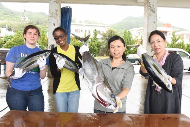 体验冲绳的渔市竞标&海人料理!